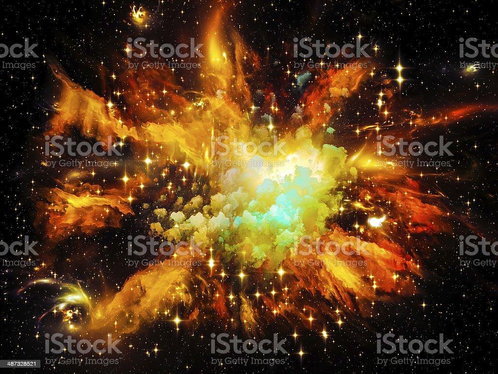 Beautiful Nebula royalty-free stock photo