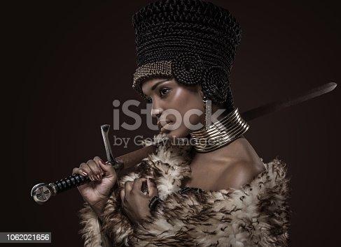 Beautiful Nefertiti Woman