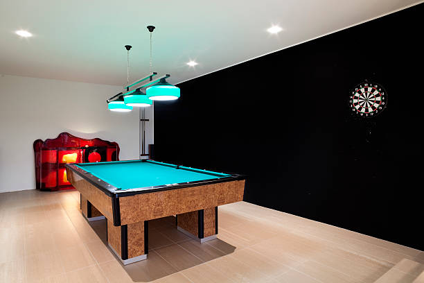 beautiful new apartment  man cave stock pictures, royalty-free photos & images