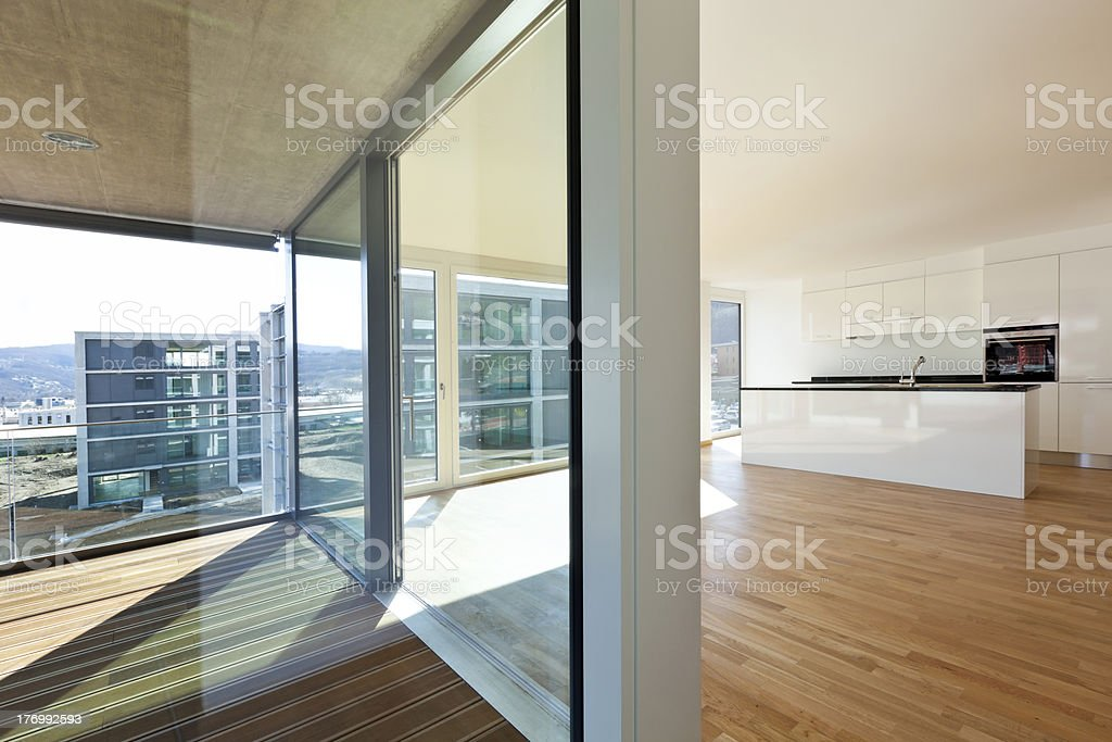 beautiful new apartment royalty-free stock photo