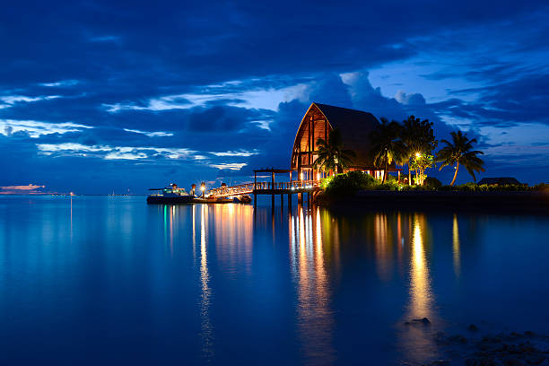 Best Maldives Night Stock Photos, Pictures & Royalty-Free Images