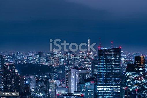 512524478 istock photo beautiful night scene of  tokyo skyline 512527078