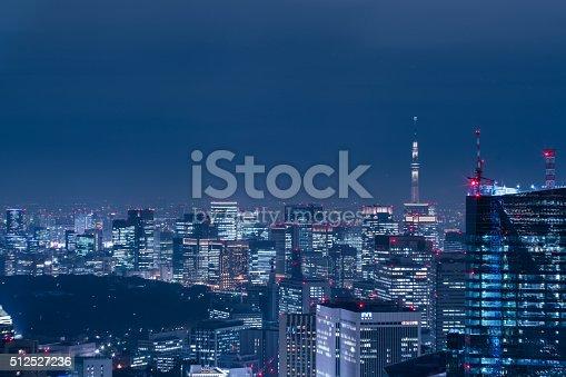 512524478 istock photo beautiful night scene of  tokyo skyline 512527236