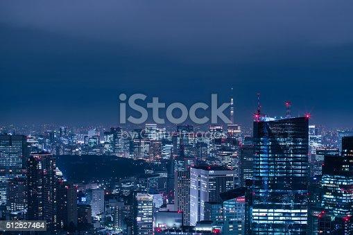 512524478 istock photo beautiful night scene of  tokyo skyline 512527464
