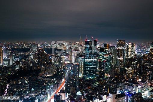 512524478 istock photo beautiful night scnen of  tokyo skyline 510573808