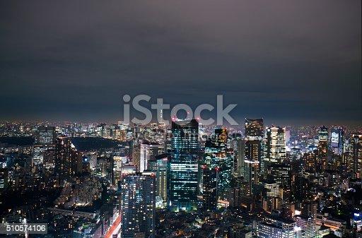 512524478 istock photo beautiful night scnen of  tokyo skyline 510574106
