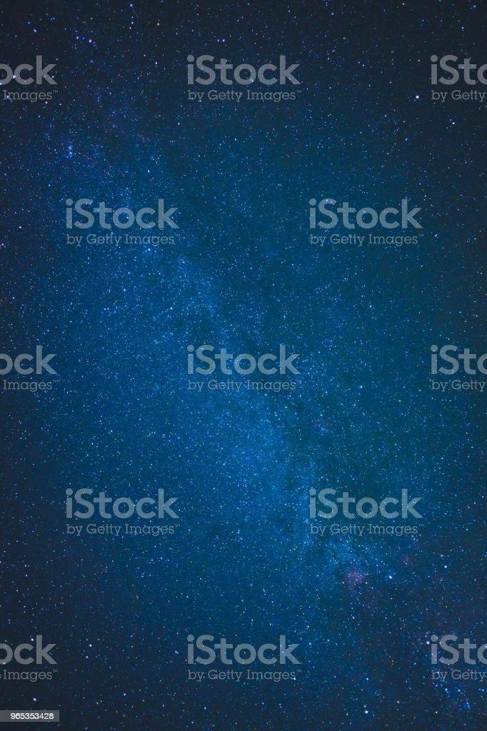 Schönen Nachthimmel  – Foto