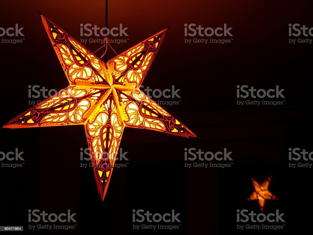 Beautiful Night Star royalty-free stock photo