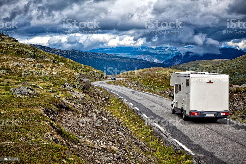 Beautiful Norway stock photo