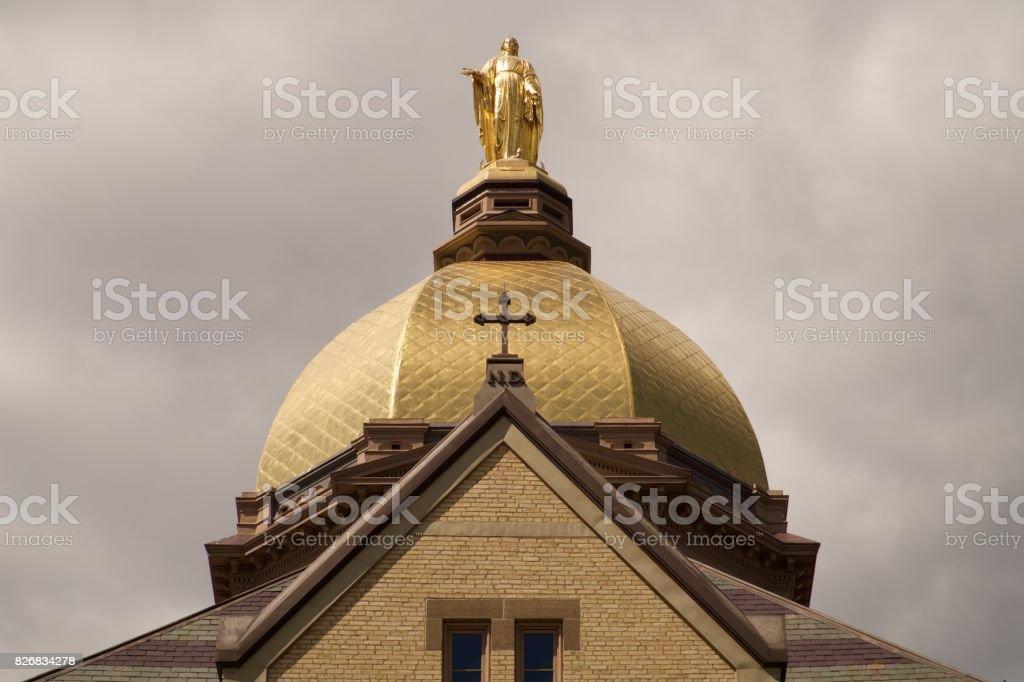 Beautiful Notre Dame stock photo