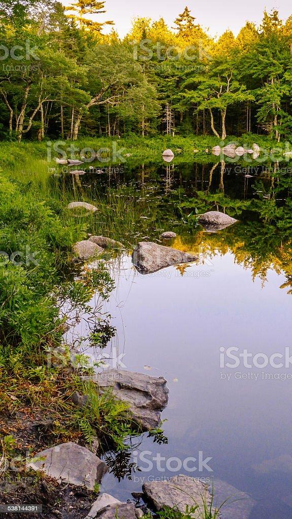 Beautiful Nova Scotia stock photo