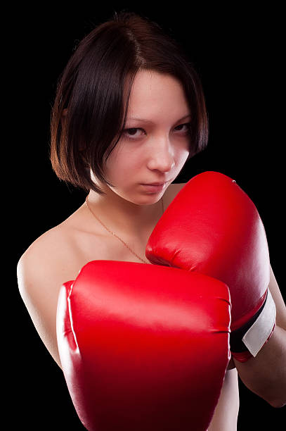 Best Women Topless Boxing Stock Photos, Pictures  Royalty-Free Images - Istock-5567