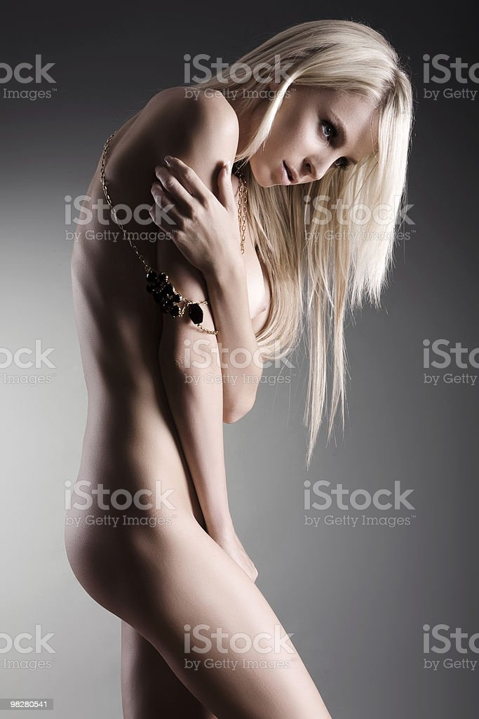 Bellissimo nude foto stock royalty-free