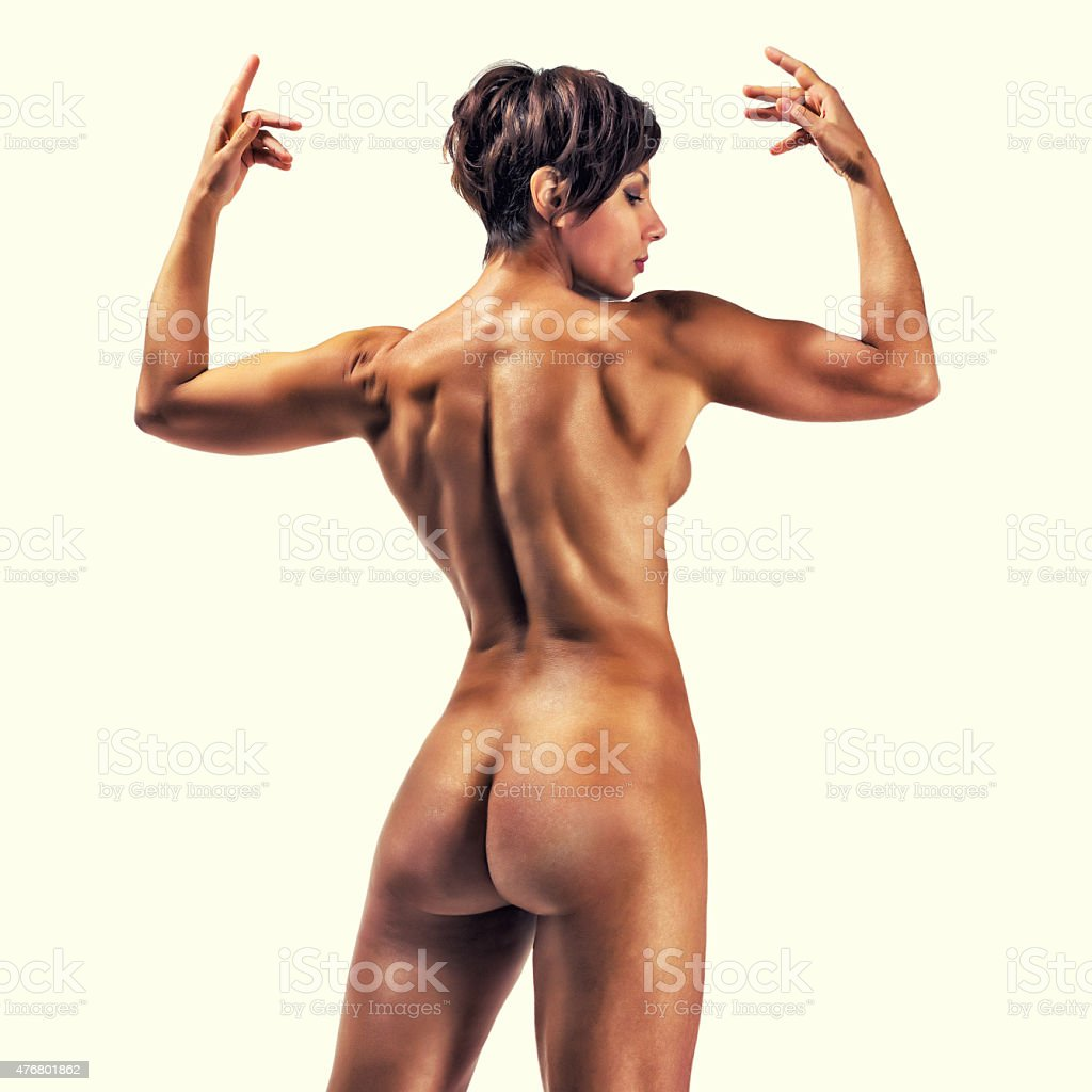 Beautiful Nude Strong Sports Woman Stock Photo - Download -4917