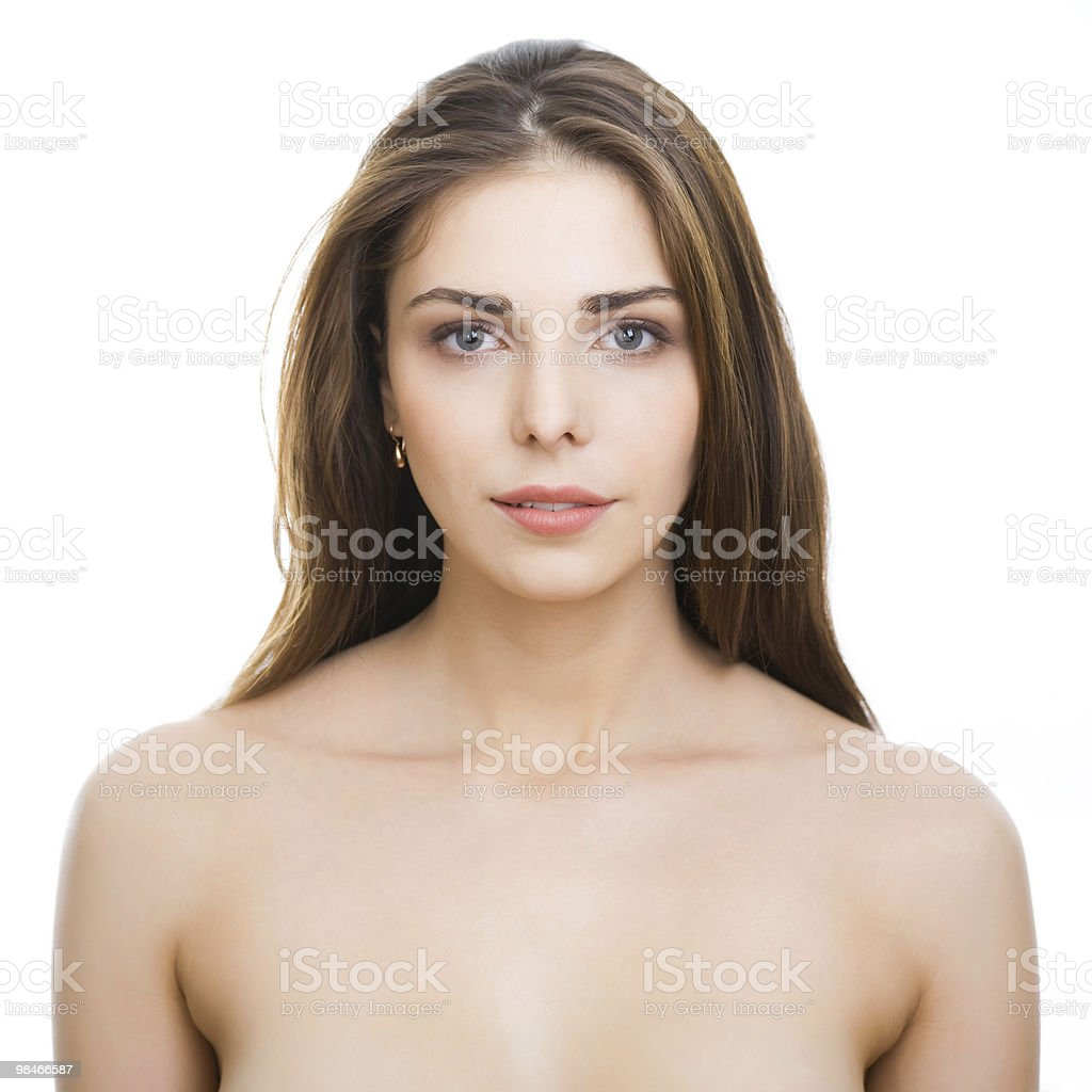 Bella donna nude foto stock royalty-free