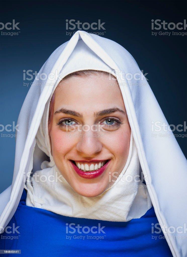Beautiful Nun royalty-free stock photo