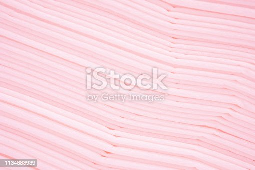 939873258 istock photo Beautiful of line gradient pink pastel color abstract background of paper texture. Contemporary art. - Image. 1134883939