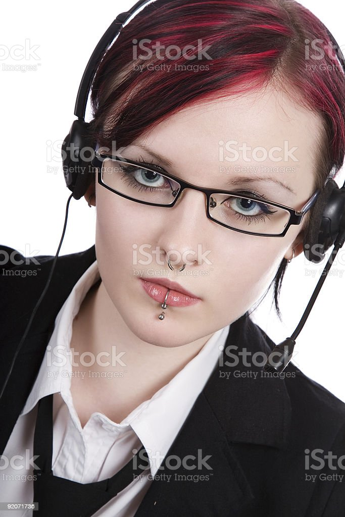 beautiful office manager royalty-free stock photo