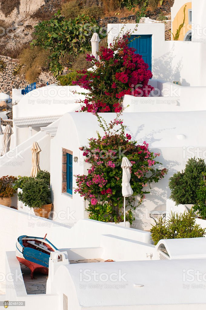 Beautiful Oia - Santorini stock photo