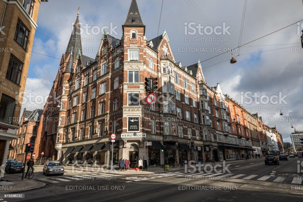 Fotografía De Bellos Edificios Antiguos De Apartamento En Copenhague