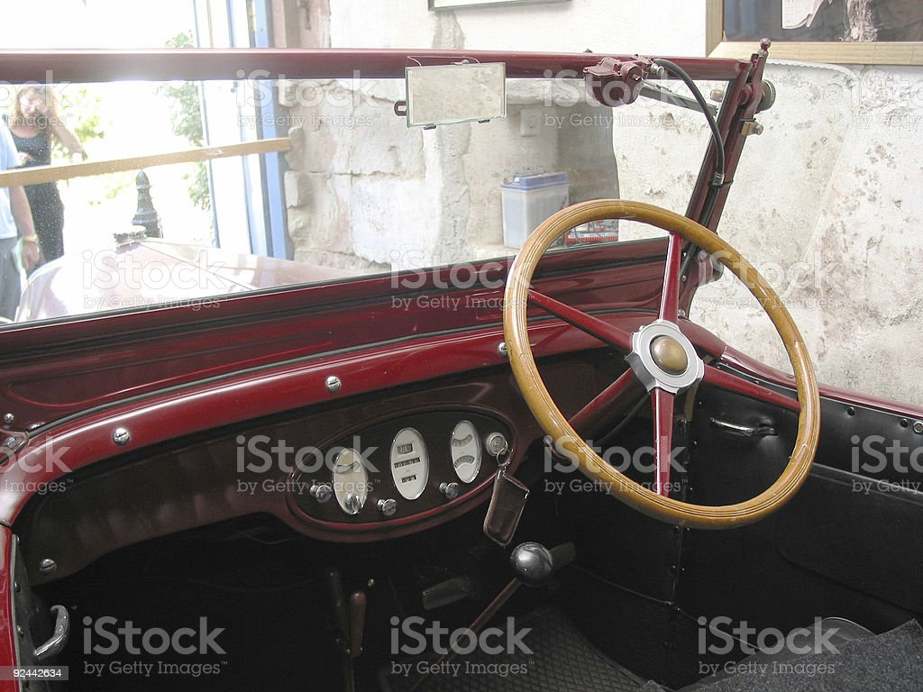 beautiful old chevy royalty-free stock photo