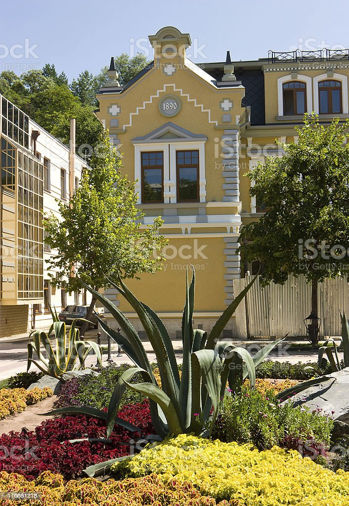 Beautiful old house royalty-free stock photo