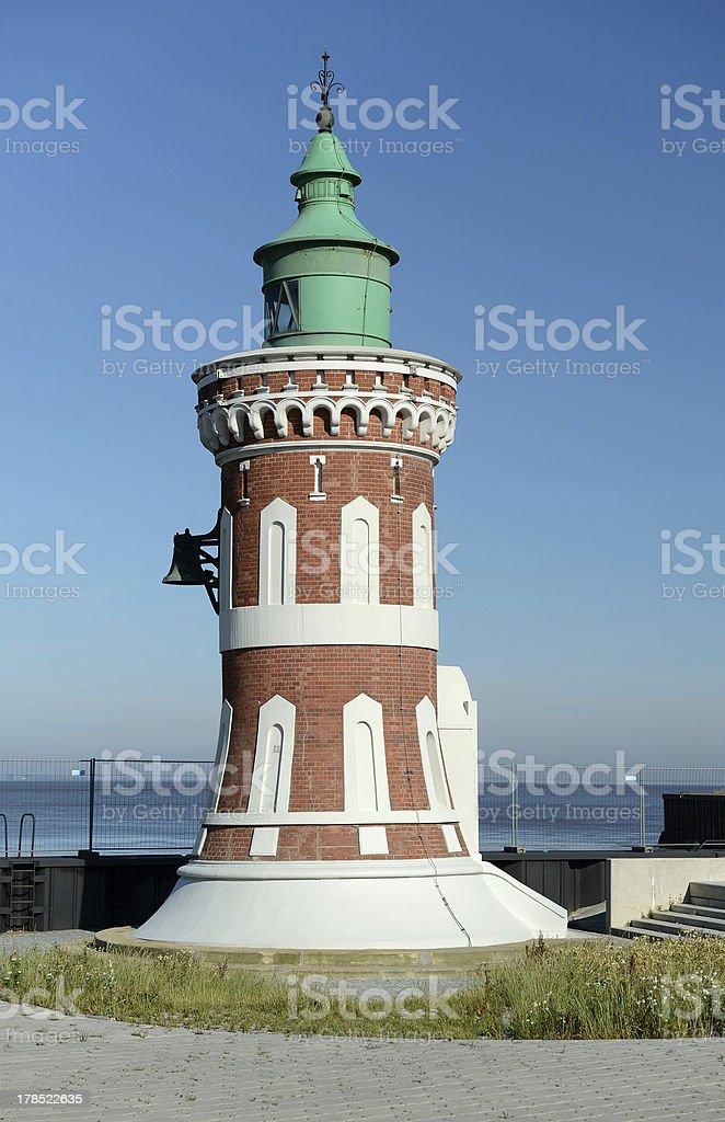 beautiful old lighthouse royalty-free stock photo