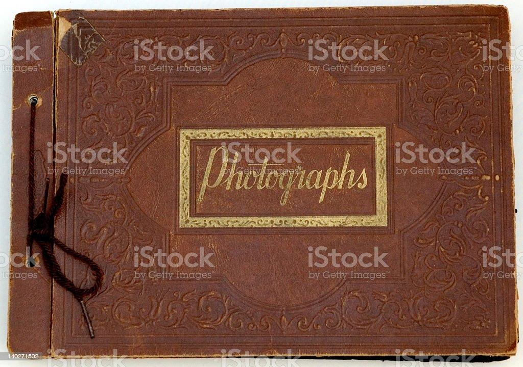Fotografía de Viejo Hermoso Cubierta De álbum De Fotos y más banco ...