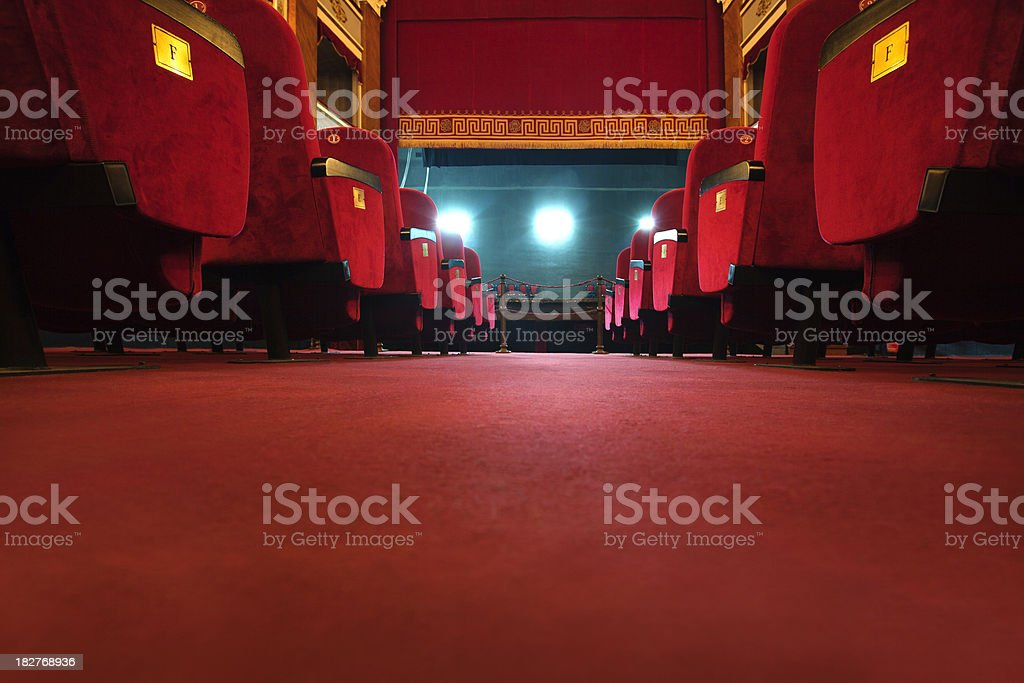 beautiful old  theatre royalty-free stock photo