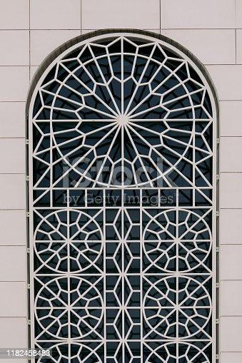 628471550 istock photo beautiful ornament on the window 1182458483