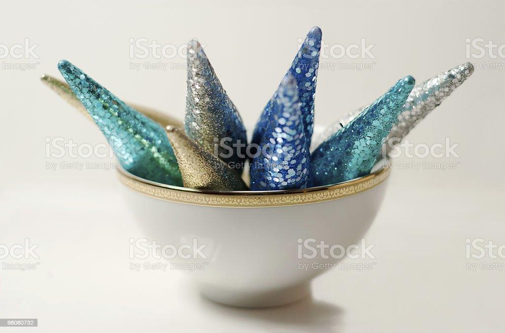 아름다운 장식품 만들진 보울 royalty-free 스톡 사진