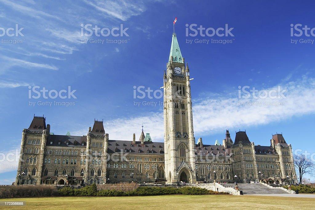 Beautiful Ottawa Landmark royalty-free stock photo