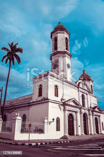 Beautiful Our Lady of the Immaculate Conception Cathedral In Cienfuegos, Cuba