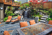 Beautiful outdoor living space.