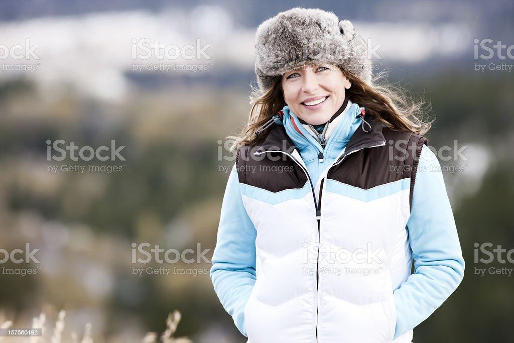 Beautiful Outdoorsy Woman royalty-free stock photo