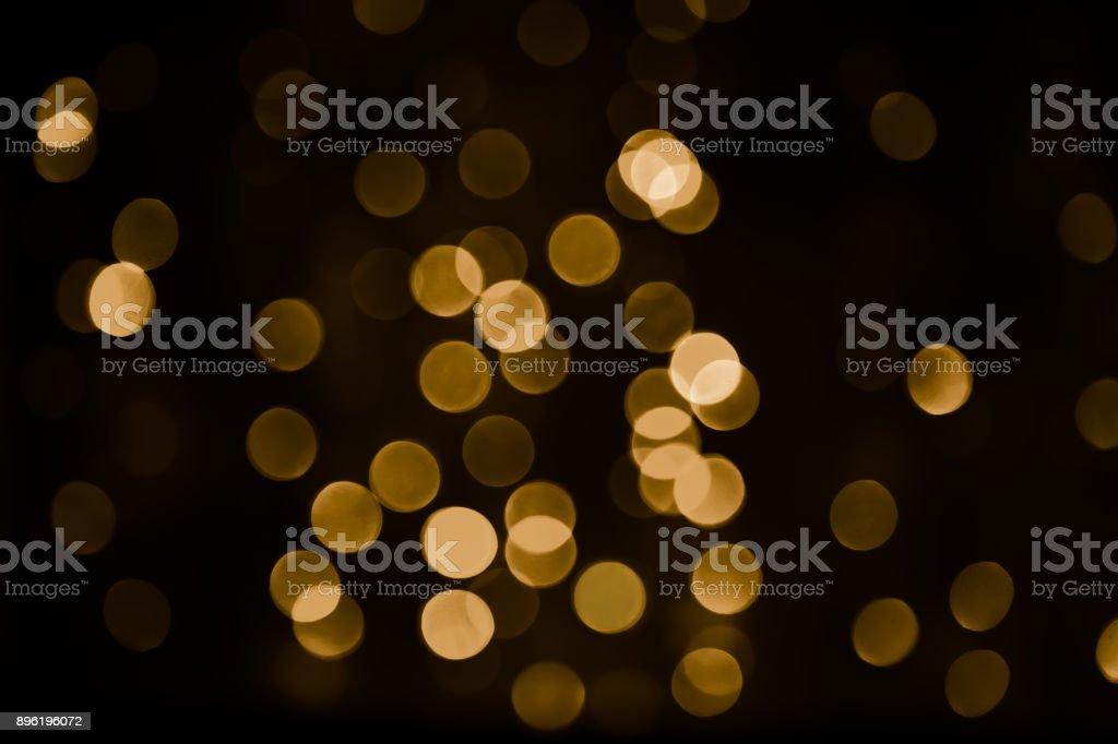 Beautiful Overlay bokeh light texture stock photo