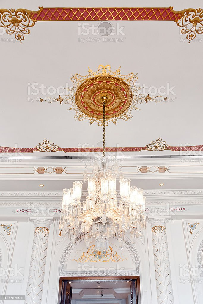 Beautiful Palace Room stock photo