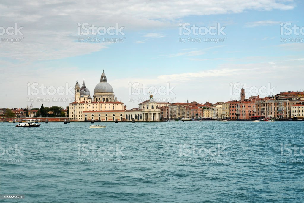 Beautiful panorama of Venice royalty-free stock photo