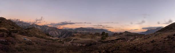 Schöner Panoramablick auf die Berge und die Landschaft von Gran Canaria, Spanien – Foto