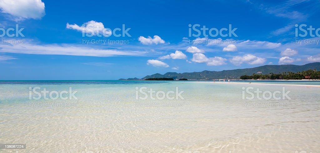 Beautiful paradise tropical island, Thailand stock photo