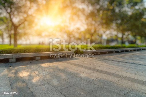 istock Beautiful park at a sunny day,shanghai,china 904770252