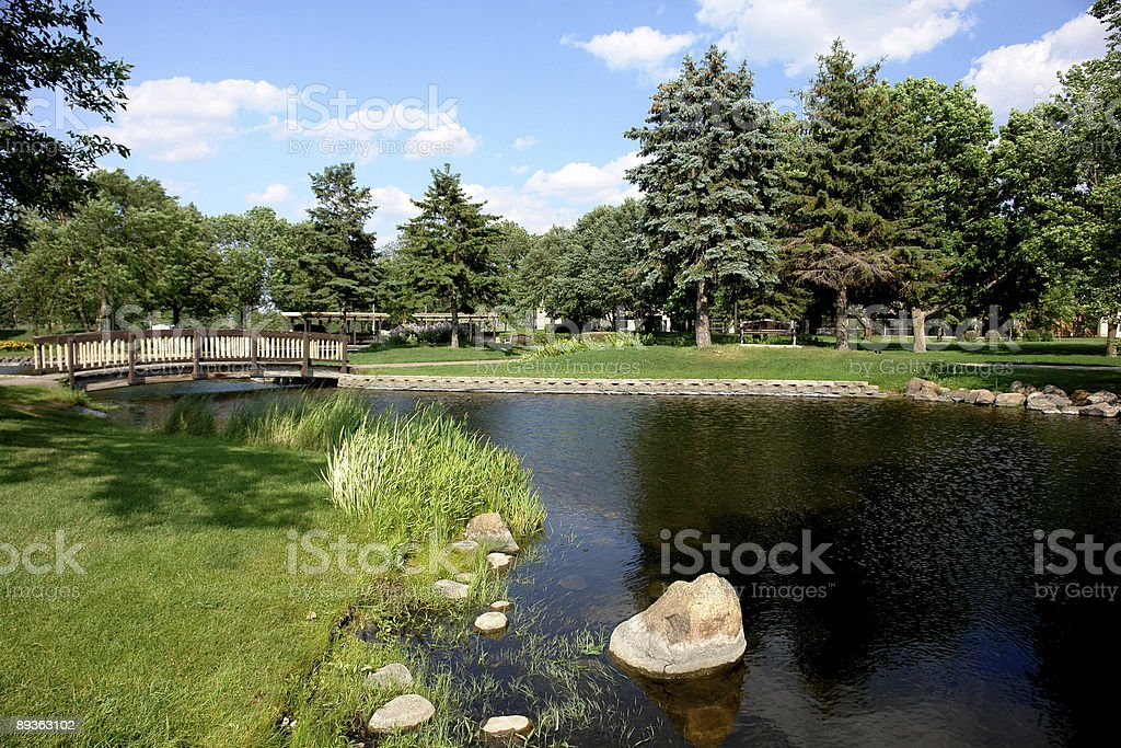 Parco bellissimo giorno foto stock royalty-free