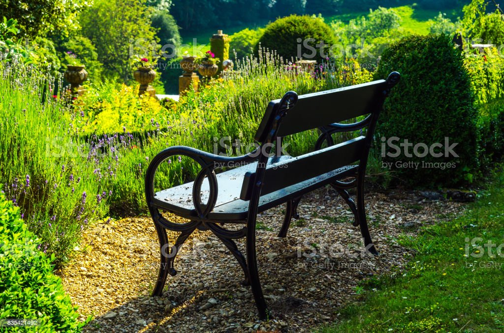 Brilliant Beautiful Park In Antique Style Stone Decorations On Theyellowbook Wood Chair Design Ideas Theyellowbookinfo