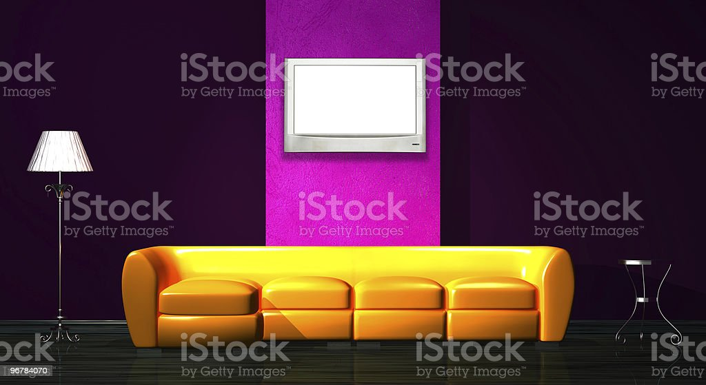beautiful pattern of the interior royalty-free stock photo
