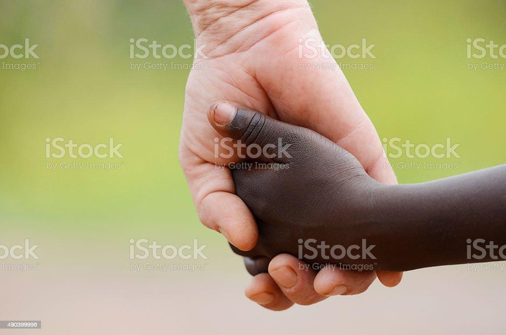 White woman having a black baby