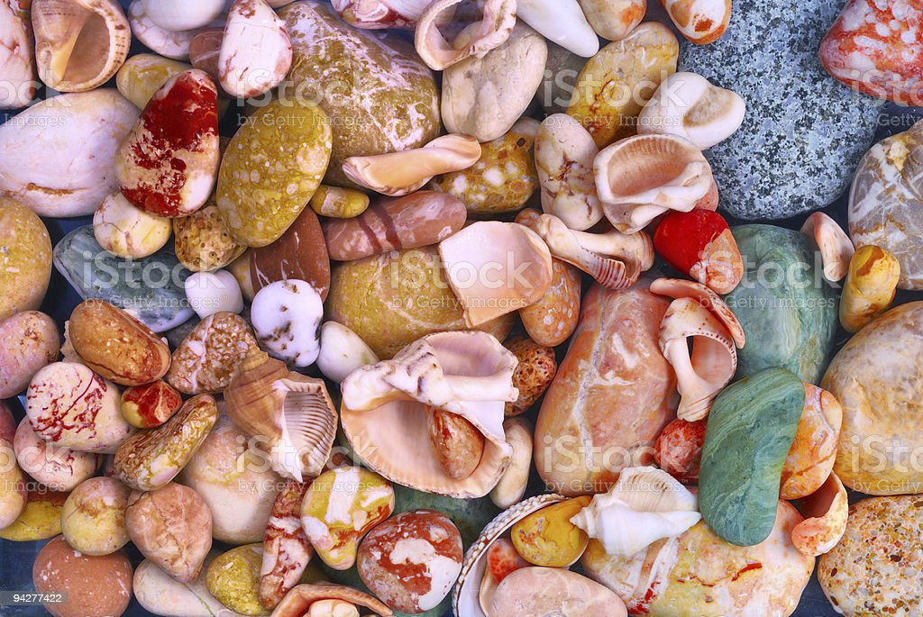 beautiful pebble are a background royalty-free stock photo