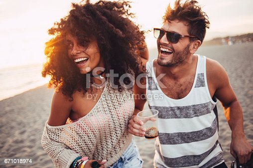 istock Beautiful people having fun 671018974