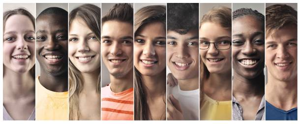 beautiful people - student stock photos and pictures