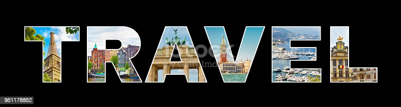 istock Beautiful Photo collage Text Travel 951178852