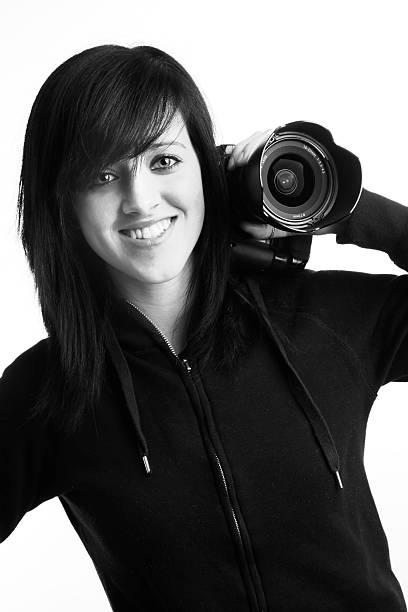 Beautiful Photographer stock photo